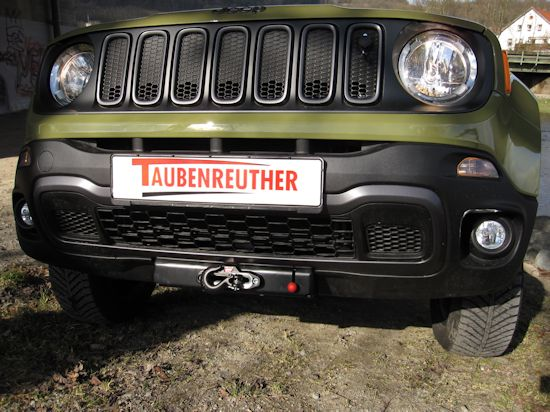 winch mounting kit jeep renegade trailhawk incl warn. Black Bedroom Furniture Sets. Home Design Ideas