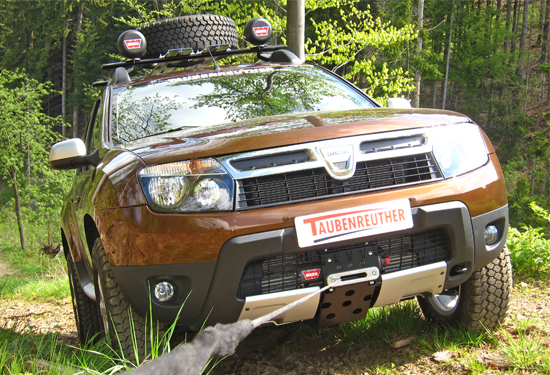 Hidden Winch Mount Dacia Duster Will Not Fit For Models
