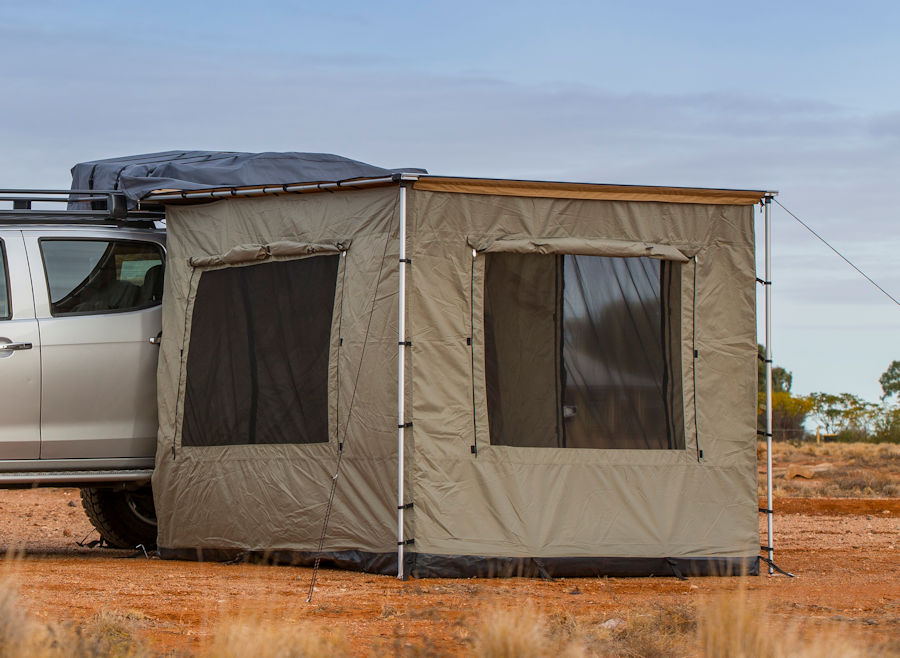 ARB AWINING TENT 2500X2100MM FOR TOURING 3 4 WALL WITH FLOOR AND 2 WINDOWS & ARB Awining tent 2500x2100mm for Touring 3 4 wall with floor and ...