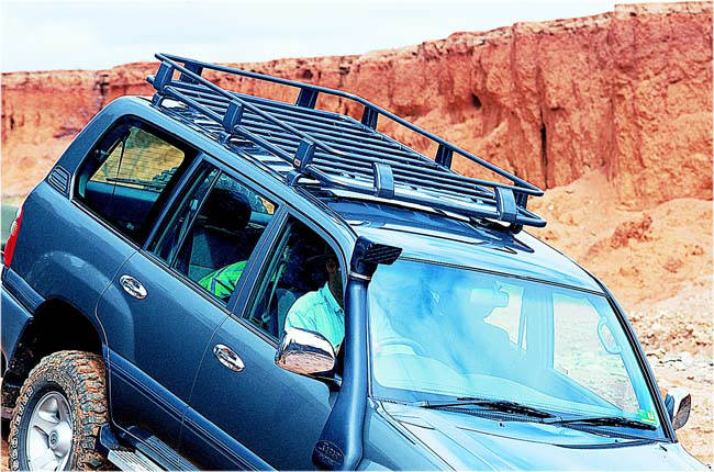 Arb Roof Rack Deluxe 1820x1120 For Toyota J100 J120
